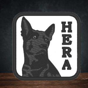 Parche bordado de Hera Cider
