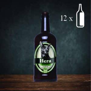 Pack 12 botellas sidra Natural Hera
